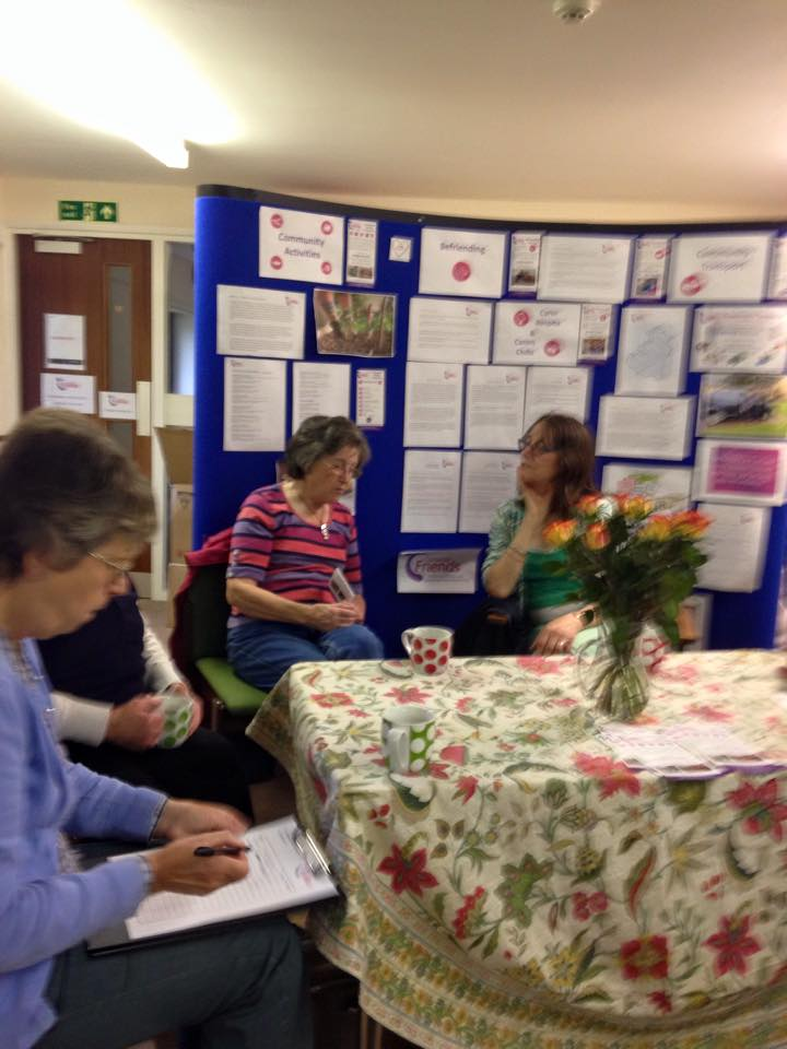 Plenty of cake and conversation at the Volunteers Morning