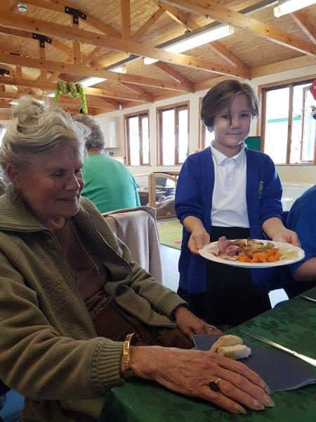 Fantastic New Lunch Club at Stow Primary School