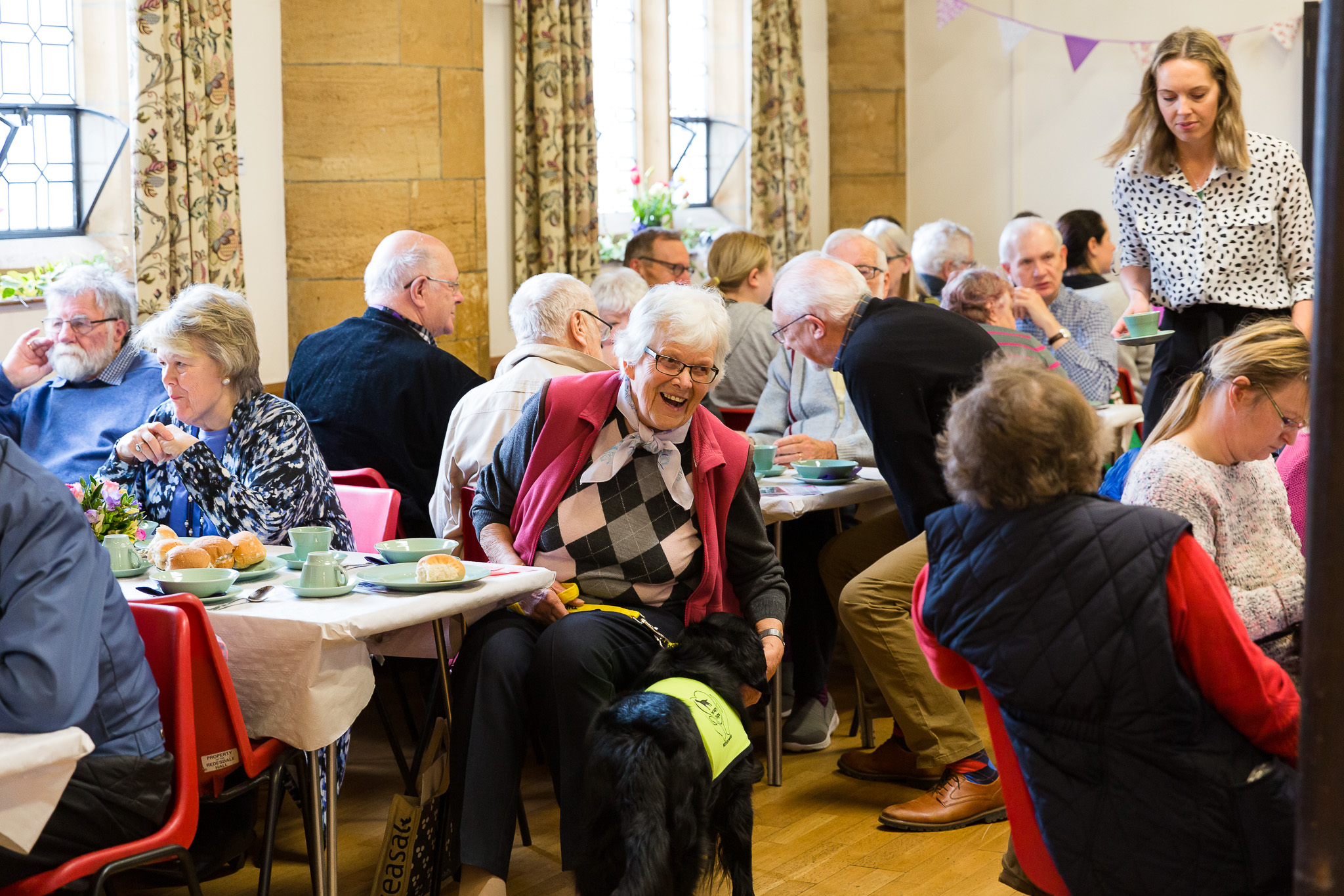 Warming soup and cheery chat at our Spring Event