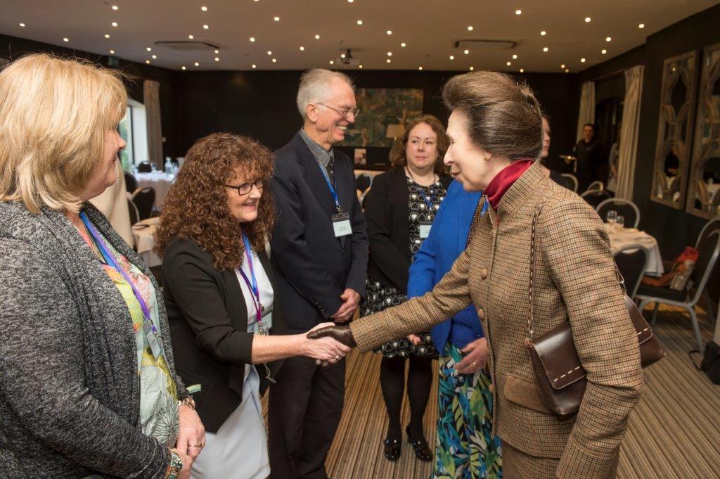 Cotswold Friends staff honoured to meet HRH The Princess Royal