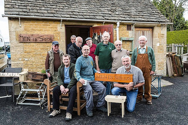 Bourton Men in Sheds group